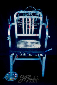 2 chair Junkie (Self Portrait of an Artist)-2