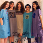 Hand Printed Clothing 1990's