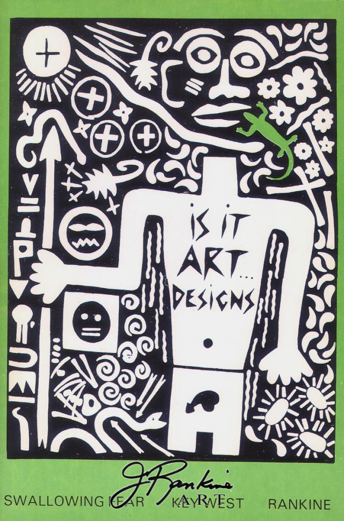 T-SHIRT IS IT ART DESIGN LOGO_