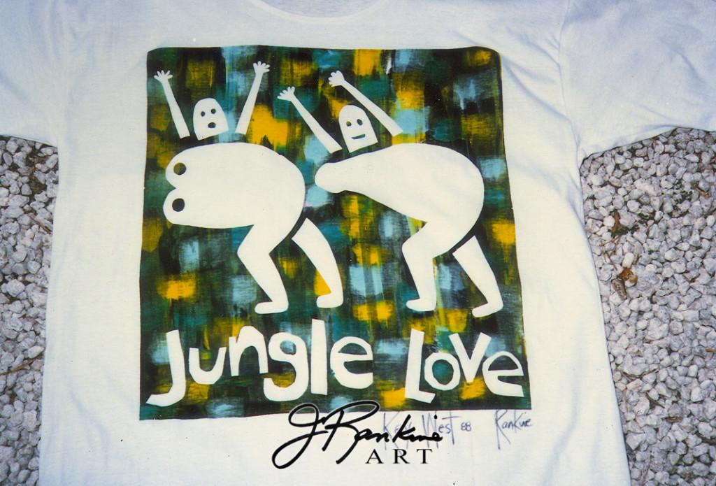 T-SHIRT-  JUNGLE LOVE_