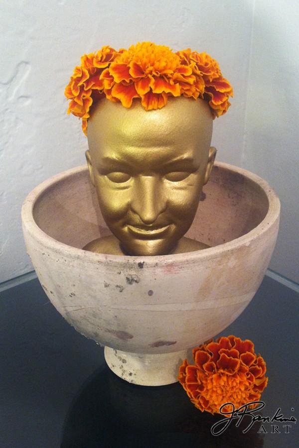 marigold head