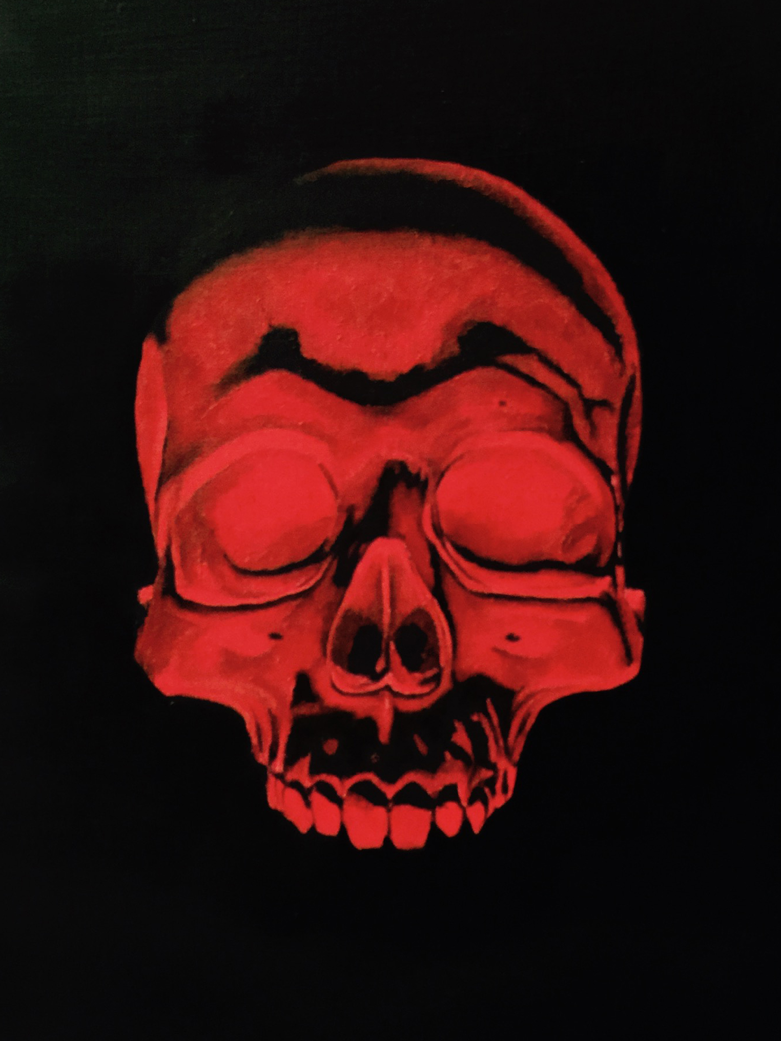 red skull for blog